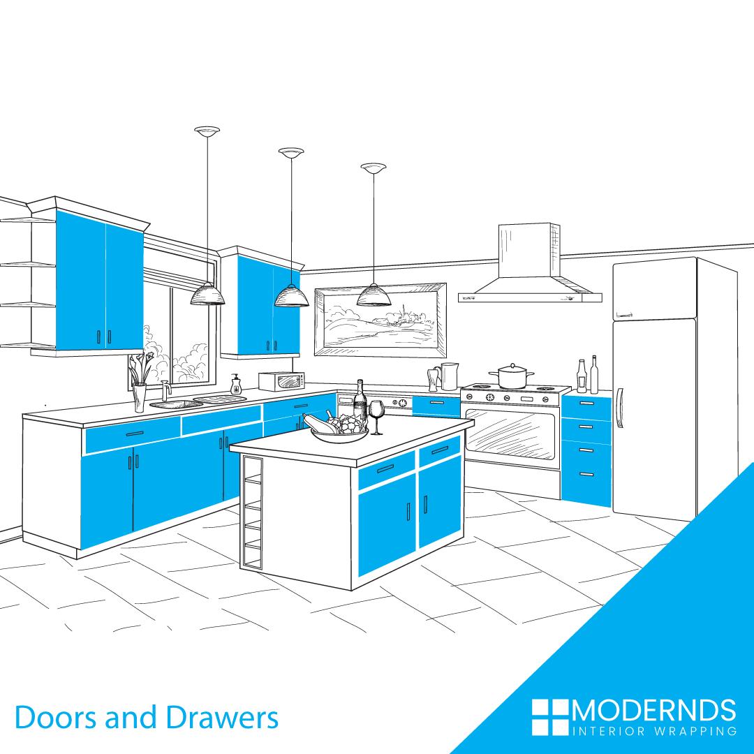 Doors-Drawers wraps