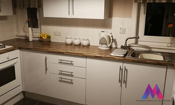 Lovely Kitchen Wrap Transformation